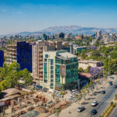 Panoramic view of Addis Ababa
